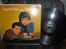 RARE-ANNETTE SINGS ANKA-Vista label-BV-3302/ 1960-her 3rd album-VG++/ M-