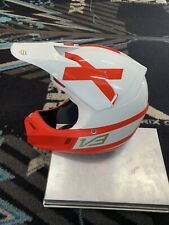 2018 Fox Racing Limited Edition V3 Helmet White Red Size Medium