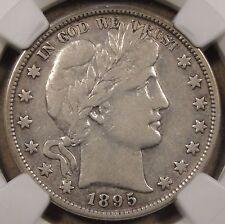 1895 Barber Half Dollar NGC VF20