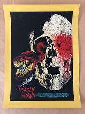 The Deadly Spawn Screen Print Signed by Producer - Chris Garofalo QFS - NT Mondo