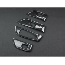 ABS Carbon Door Handle Window Switch Panel Trim For Benz E-Class W213 2016-18