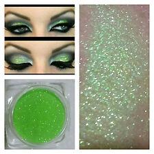 HOLOGRAPHIC BLING EYE GLITTER LIME GREEN BODY BLING