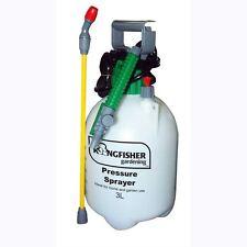 3L Garden Pressure Sprayer Water Bottle Pump Weed Killer Knapsack Chemical Fence