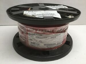 SOUTHWIRE TAPPAN F40021-1A Fire Alarm Cable 18/2 SOL BC RED 1880BB2/FPLR 1000 FT