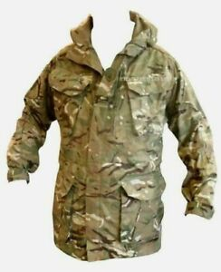 ARMY CAMOUFLAGE MTP SMOCK WINDPROOF COMBAT - NEW - VARIOUS SIZES - F9