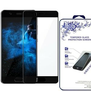 [ Huawei P10 Glass ] Full Cover HD Tempered Glass Screen Protector (BLACK)