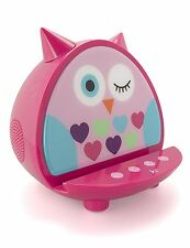 My Doodles Big Owl KitSound Child Friendly Character Dock Bluetooth Speaker