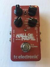 TC Electronic Hall Of Fame Stereo Digital Reverb Original Guitar Effect Pedal