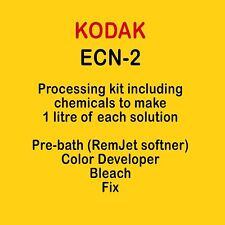 ECN-2 processing kit 1 liter for Kodak Vision 50D 250D 200T 500T or Fuji Eterna
