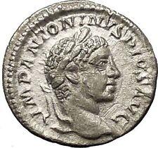 Elagabalus Bisexual Emperor 220AD Silver Ancient Roman Coin Abundantia i53204