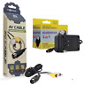 Sega Genesis Model 1 AV Cable & AC Power Supply Cord - Hookups Bundle- Brand New