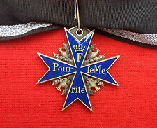 WW1 Prussian Imperial German Blue Max Pour Le Merite Medal - Free Delivery!