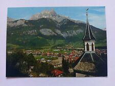 Sallanches, Hte Savoie, France Vintage colour postcard c1970