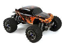 Custom Buggy Body Muddy Orange for Traxxas T / E Maxx Shell Cover 3911R E-Maxx