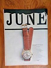 1962  Elgin Watch Ad  Graduation Theme
