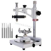 CE FDA Dental lab Parallel Surveyor tools handpiece holder 6 spindles equipment