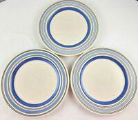 "Set of Three  Pfaltzgraff  RIO   11""  Dinner Plates  Made in Mexico"