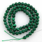 1string 110580 Wholesale Green Round Ball Natural Turquoise Gemstone Beads 6mm