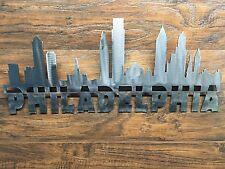 Philadelphia Skyline Philly Metal Sign  Wall Art Home Decor Outdoor Patio Garden