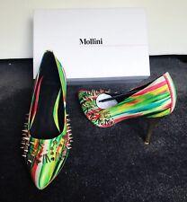 Size 39 Mollini Versace-look Studded Heels