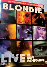 DVD Blondie - Live In New Hampshire Rare 2015 Tour Rare Pretenders Roxette