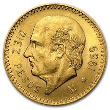10 pesos or Mexique années variées Gold coin Mexico (random year)