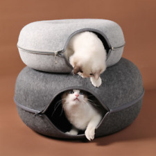 Round Wool Felt Pet Nest