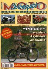 CHRONIQUES MOTO 60 Essai SUZUKI TR 500 PIERCE 700 Four PALOMA 705 1250 SEELEY