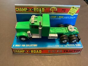 Vintage Champ Of The Road Peterbilt W925 Conventional Diecast Truck 1/50