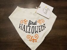 New listing Baby's 1st Halloween Bib Bandana Hallmark Baby, New With Tags, Noy, Girl, Unisex