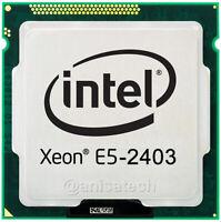 Xeon E5-2403 4-Core 1.80GHz 10MB 6.4 GT/s FCLGA1356 CPU Processor SR1AL 100% OK