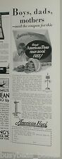 1929 American Flyer advert., toy train, free train book