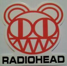 "Radiohead~Rock Band~Decal Sticker Adhesive Vinyl~2 5/8"" x 2 5/8""~FREE US Mail"
