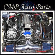 BLUE FIT 1994-1996 CADILLAC FLEETWOOD 5.7L V8 DUAL AIR INTAKE KIT SYSTEMS