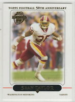 2005 Topps Football Washington Redskins Team Set