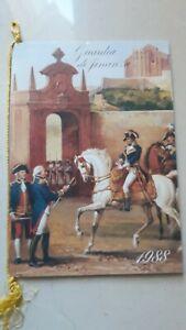 Calendario guardia Di Finanza 1988
