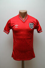 RARE ENGLAND NATIONAL TEAM 1986 WORLD CUP AWAY FOOTBALL SHIRT JERSEY UMBRO