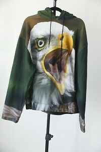R13 Eagle Oversized Hoodie ONE SIZE