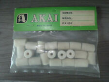 PACK OF 20 NOS Akai Tape Cleaning Lubricating Felt Pad M10 X-1800 4000 X-150D