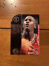 RARE 1995-96 Michael Jordan SP CHAMPIONSHIP SERIES E DIE-CUT #4 ~ Chicago Bulls
