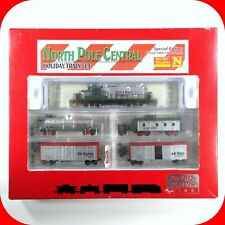 N Scale NORTH POLE CENTRAL Christmas Holiday Train Set -MICRO TRAINS Special Run