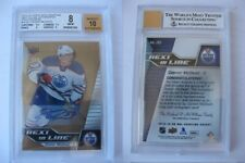 2015-16 UD Overtime Connor McDavid 1/3 next in line autograph RC BGS 10 auto HOT