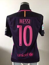 Messi #10 Barcelona Lejos Camiseta De Fútbol Jersey 2015/16 (M)