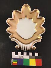 Rare Tucker & Hemphill Philadelphia Early American Porcelain Leaf Shell Dish