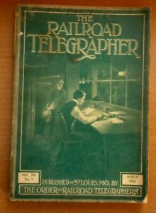The Radio Telegrapher Vintage/Antique Magazine:  March 1904