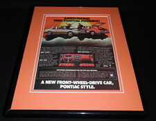 1980 Pontiac Phoenix Framed 11x14 ORIGINAL Vintage Advertisement