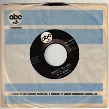 KING, B.B.  (Waitin' On You  //bw//  Night Life)  ABC 10889 = VINTAGE record!