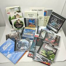 Big Lot of Vintage CD-ROM PC Games + Manuals Guides See description for titles