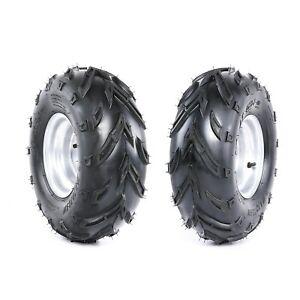 "2pc 16x8-7 Wheels Tyre 3 Bolt 7"" inch Rim for ATV Quad Bike Buggy 125cc 110cc"