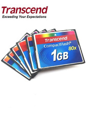 Transcend 1GB CompactFlash Card 80X CF Card 1GB High Speed Memory Card